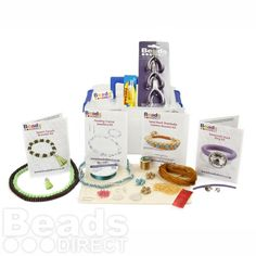 £39.98 Jewellery making starter kit, inc pliers. For those who want to begin making jewellery but don't know where to start