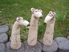 3 Obercoole Garten- Ratten