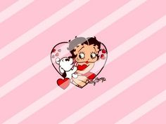 Betty Boop Edible Cake Topper Frosting 1/4 Sheet Image #76