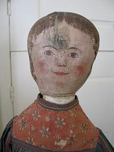 Maida Today: antique cloth doll