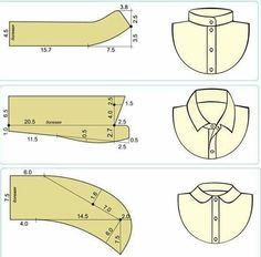 How to sew a pants fly Sewing Men, Sewing Clothes, Dress Sewing Patterns, Clothing Patterns, Sewing Hacks, Sewing Tutorials, Sewing Ideas, Sewing Collars, Sewing Courses