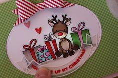 SSS December 2016 Card Kit Inspiration - Light Up Rudolph