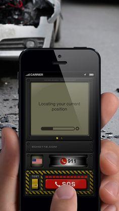 echo112: lifesaving app with a slick UI