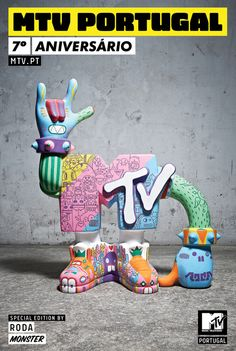 2010_MTV TOY - Monster by bruno RODA, via Behance