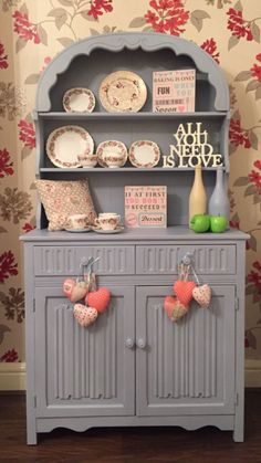 Lovely vintage shabby chic Dutch dresser by theshabbychiclook-uk. £165
