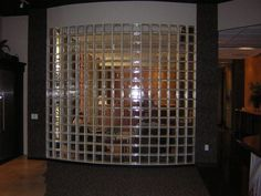 clear glass block for shower stall