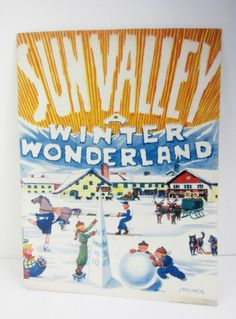 Sun Valley 1939 advertising Worlds Fair New York booklet. www.Connectibles.net