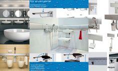 Poręcze uchwyty dla niepełnosprawnych systemowe. Poręcze, siedziska, akcesoria łazienkowe instalowane na profilach aluminiowych pozwalające w dowolnym momęcie na szybki i prosty demontaż i zastosowanie w łazienkach np hotelowych w zależności od zapotrzebowania