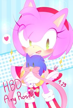 Happy Birthday Amy Rose! [1]