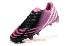 detailed look 7f4a6 3a0d4 adidas Predator LZ TRX FG Soccer Cleats Pink White Black