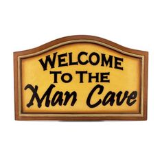 """RAM Game Room R179 """"Welcome to the Man Cave"""" Bar Sign"""