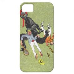 Krampus Kidnapping Men iPhone 5 Cases