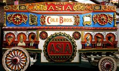 Shown here: the Asia tableau, part of a series of telescoping tableaus built for the Barnum and Bailey Circus of 1903.