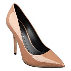 """As seen in the New York Daily News...Boutique 9 pointy toe platform pump. Genuine leather upper with 4 1/2"""" heel and 1/2"""" platform. This style is available exclusively @ Nine West Stores  ninewest.com."""