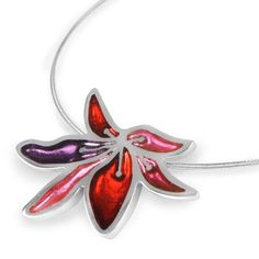 Trifle Orchid Flower Pendant available online from The Jewellery Stop's extensive range of Watch This Space Costume Jewellery. Dispatched in 2-3 Business days. All components used are hypo-allergenic and nickel free. #thejewellerystop #watchthisspacejewellery #costumejewellery #jewellery #pendant #gift #fashion #womensfashion #treatyourself