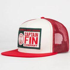 CAPTAIN FIN Best Kooks Mens Trucker Hat