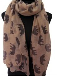 Aliexpress.com   Buy 10pcs lot Elephant Animal Print Women s Long Scarf  Autumn Winter 8eb8e0382d28
