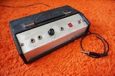 Vintage lafayette lre solid state echo verb spring reverb reverberation unit