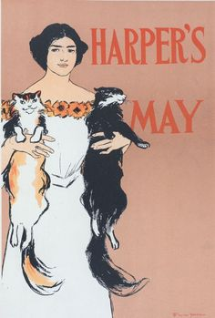 vintage magazine covers | ... – Animal – Cat – Vintage magazine cover | Vintage Printable