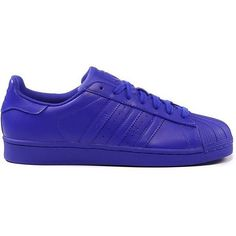 adidas SUPERSTAR SUPERCOLOR ($105) ❤ liked on Polyvore featuring shoes