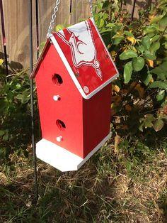 Arkansas Razorback Condo Birdhouse