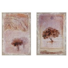 Add artful appeal above your hall table or create a charming focal point in the den with this delightful wood wall decor, showcasing a weathered tree motif. ...