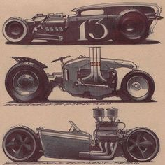 Rat Rod concepts