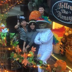 Our @followthehoney @harvard_square crew wishes you a #HONEY of a #Halloween  #FollowTheHoney #HarvardSquare #BowAndArrow #CambMa #Creatives #Beeks #Beekeepers #Weirdos #Bees #Makers #Advocates #Entrepreneurs #SmallBiz #ShopSmall #Retail #Artists #Ephemera #LocalBiz #Foodies #Artists #Costume #CreativeLife #Beeswax #Beauty #Luxe #WeShip #WeDeliver  #LOVE  by followthehoney October 31 2015 at 04:28PM