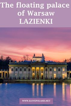 The magical Lazienki Palace in Warsaw Poland is an oasis of magic in this bustling capital city. Set in the grounds of the Lazienki Park and nestled on the lake this stunning palace will leave you breathless. Croatia Travel, Thailand Travel, Bangkok Thailand, Poland Travel, Italy Travel, Urban Park, Warsaw Poland, Weekend Breaks, Las Vegas Hotels