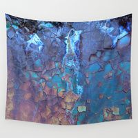 Wall Tapestries featuring Waterfall  by Lena Weiss