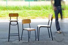 school chair by zangra.