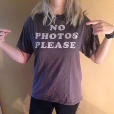 Ironic Tshirt photography puns, super soft Vintage Tops Tees - Short Sleeve