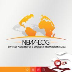 Criação de Logotipo NEW-LOG - FIRE MÍDIA - Agência de Publicidade http://firemidia.com.br/exportacoes-crescem-16-em-janeiro/