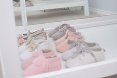 A girl and even a baby girl can never have too many shoes, right?
