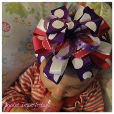 Stacked Hair Bow Tutorial