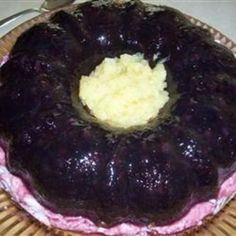 Blueberry Congealed Salad
