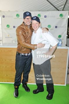 Donnie and Paul Wahlberg at Wahlburgers