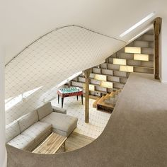 Leibal: Rounded Loft by A1 Architects