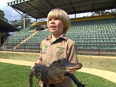 Steve Irwin's kids following in dad's footsteps Terri Irwin, Steve Irwin, Reptile Park, Irwin Family, Rip Dad, Crocodile Hunter, Bindi Irwin, Crocodiles, Search And Rescue