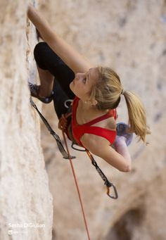 Living the dream - LIFESTRENGTH'S new athlete, Sasha DiGiulian. 3-time Sport Climbing National Champion