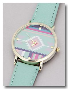 P.S. I Love You More Boutique | Aztec Beauty Watch | Spring Summer Fashion 2014 www.psiloveyoumoreboutique.com