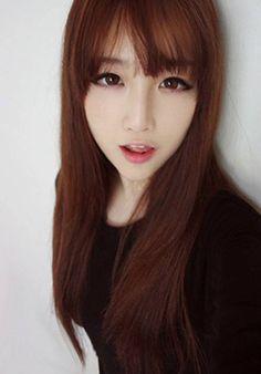 Get Ulzzang Makeup Ulzzang Hair, Ulzzang Makeup, Beauty Makeup, Hair Makeup, Hair Beauty, Korean Beauty, Asian Beauty, Korean Makeup Tutorials, Asian Makeup