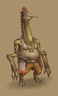 CONCEPT: Alien merchant by Ancorgil on deviantART