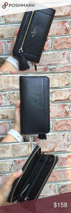 Spotted while shopping on Poshmark:  Kate Spade Saffiano Leather Wallet! #poshmark #fashion #shopping #style #kate spade #Handbags