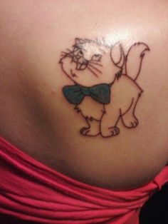 Toulouse from the Aristocats. #disneytattoo