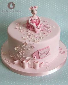 Angelina Ballerina Birthday Cake for Girls