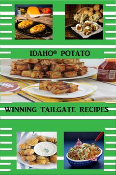 Tailgate Food, Tailgating, Idaho Potatoes, Game Day Appetizers, Great Recipes, Muffin, Snacks, Breakfast, Tapas Food