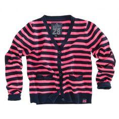 Z8 Baby - Vestje Yuna fluor roze