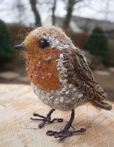needle felted robin | Flickr - Photo Sharing!