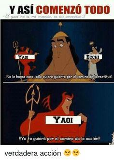 Read Yaoi from the story Memes by saz_wppm with reads. (No lo vean si no les gusta y si no lo conoces a delante eres vievenid Best Memes, Funny Memes, Hilarious, Jokes, Otaku Anime, Anime Meme, Desu Desu, Pinterest Memes, Card Captor